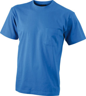 Mens Round-T Pocket T-Shirt - royal
