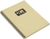 Green Concept Notizbuch DIN A4 recycelt