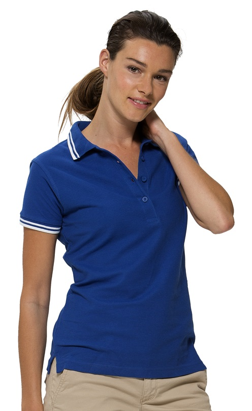 Damen Polo Erie - Tipping Poloshirts
