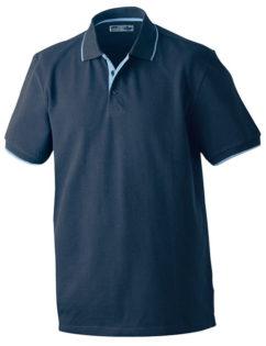 Poloshirts Bi-Color Campus - graphite aqua