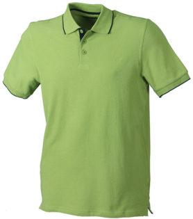 Poloshirts Bi-Color Campus - grass navy