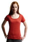 Werbetextilien Damen Shirts Slazenger Heather