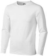 Curve T Shirt langärmlig - weiß