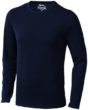 Curve T Shirt langärmlig - navy