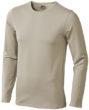 Curve T Shirt langärmlig - grau