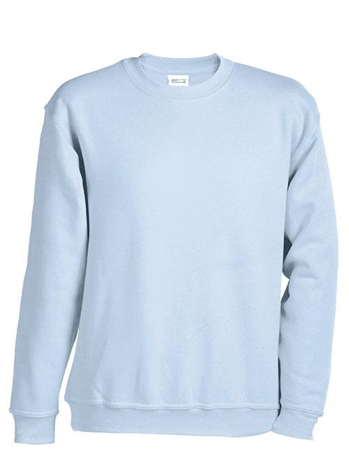 Sweatshirt Heavy James Nicholson - lightblue