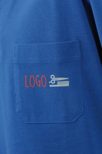 Polo Pique mit Brusttasche - Detailfoto Brusttasche
