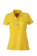 Werbetextilien Ladies Tight Fit Polo Vintage - sunyellow
