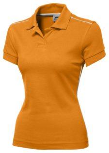 Backhand Polo Slazenger - Backhand Poloin orange/weiß