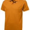 Backhand Polo Slazenger - ...in orange/weiß