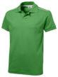 Backhand Polo Slazenger - ...in grün/weiß