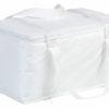 Kühltasche Querformat - weiß