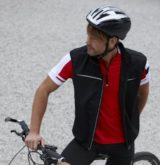 Ärmellose Jacken Fahrrad Teambekleidung