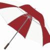 Golfschirm Centrixx - weiß/rot