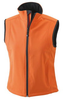 Bodywarmer Softshell Weste Ladies