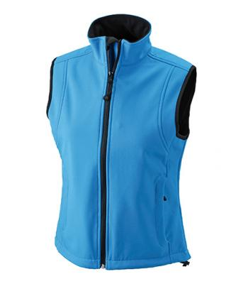 Bodywarmer Softshell Weste Ladies - aqua