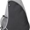 Sling One Strap Rucksack Centrixx - grau/schwarz