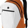 Rucksack Ozark - weiß/orange