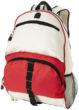 Rucksack Utah - rot/weiß
