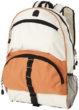 Rucksack Utah - orange/weiß
