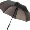 Schirm mit LED Licht in schwarz-bronze