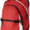 Werbeartikel Colorado Rucksack - rot/hellgrau/schwarz