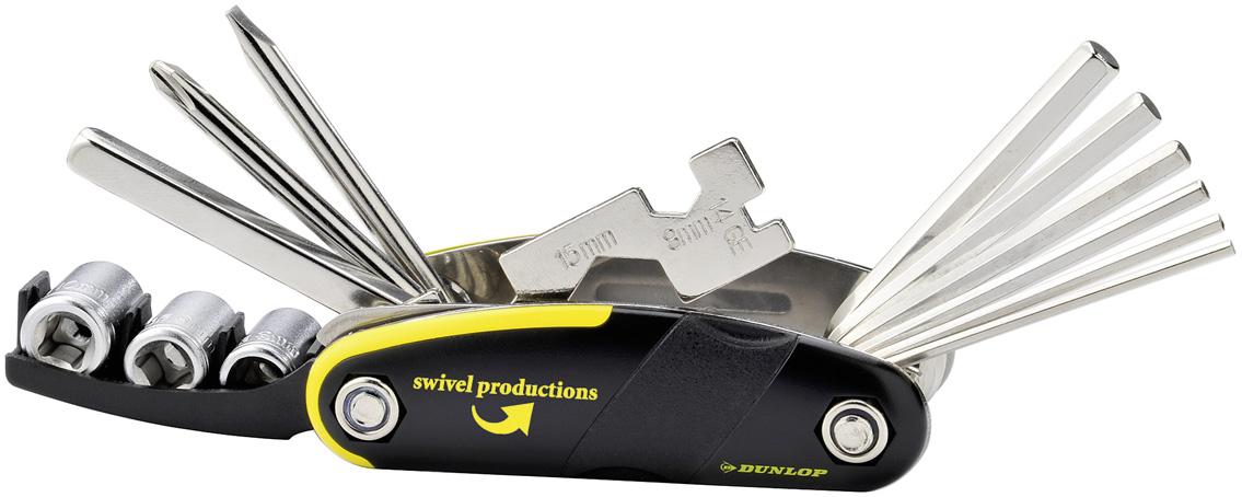 Multifunktionswerkzeug Dunlop 16-tlg