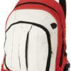 Ihre Werbung auf Arizona Rucksack - rot/hellgrau/schwarz
