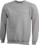 Werbeartikel Sweatshirt Round Pocket Men