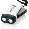 Dynamo Taschenlampe - weiß