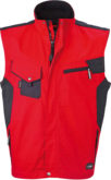 DWorkwear Vest - red/black