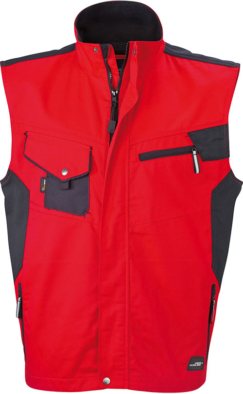 DWorkwear Vest - red/black