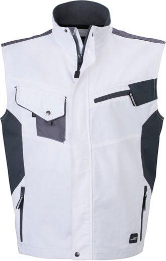 DWorkwear Vest - white/carbone