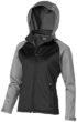 Challenger Damen Softshell Jacke - grau/schwarz