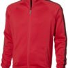 Court Full Zip Sweater Slazenger - rot/schwarz