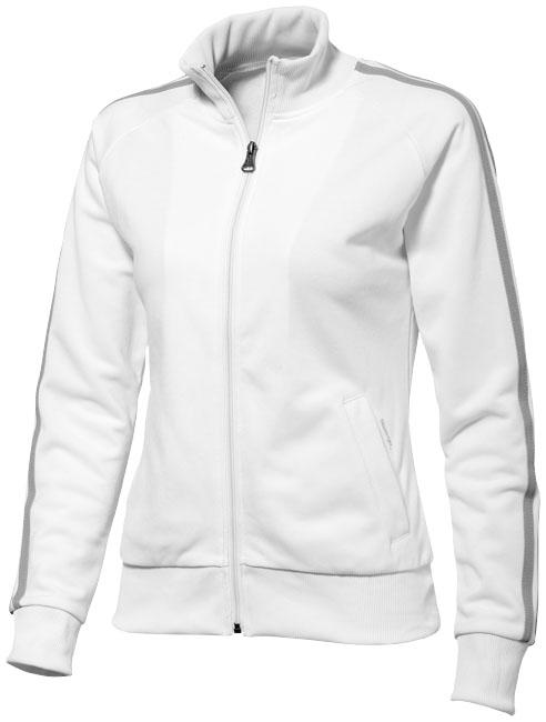 Court Full Zip Sweater Damen Slazenger - Court Full Zip Sweaterin weiß/grau