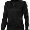 Court Full Zip Sweater Damen Slazenger - ...in schwarz/weiß