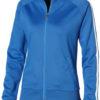 Court Full Zip Sweater Damen Slazenger - himmelblau/weiß
