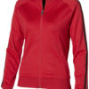 Court Full Zip Sweater Damen Slazenger - rot/schwarz