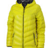 Werbeartikel Daunenjacke James Nicholson - yellow/carbon