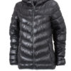 Werbeartikel Daunenjacke James Nicholson - black/grey
