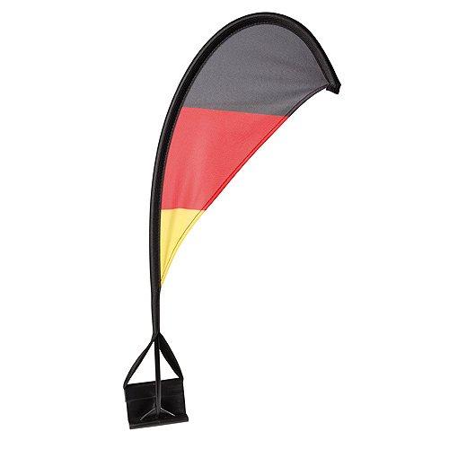 Deutschland Autofahne Windsegel