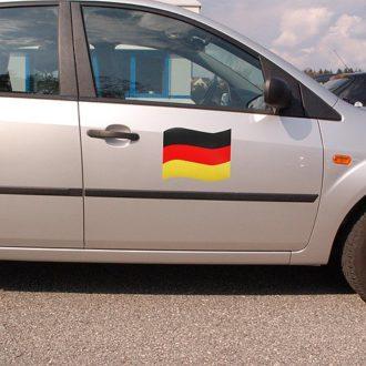 Deutschland Flagge als Automagnet