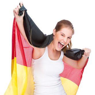 Deutschland Fanartikel Flagge