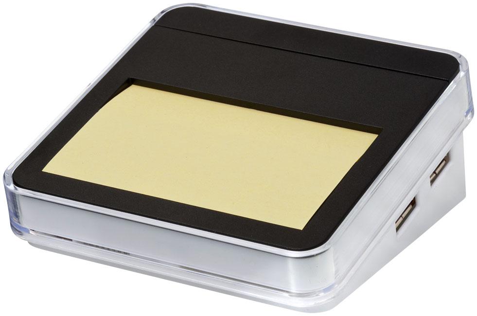 Werbegeschenk USB-HUB schwarz/weiß