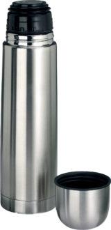 Isolierflasche - silberfarben