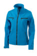 Damen Softshelljacke Tailord James and Nicholson - turquoise