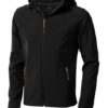 Elevate Langley Softshell Jacke - schwarz