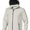 Elevate Langley Softshell Jacke - hellgrau