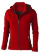 Damen Softshellacke Langley - Softshellsin rot